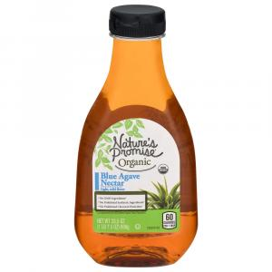 Natures Promise Organic Blue Agave Nectar