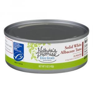 Nature's Promise Solid White Albacore Tuna
