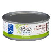 Nature's Promise Solid White Albacore Tuna