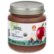 Nature's Promise Organic Apple Blueberry Baby Food