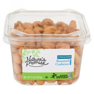 Nature's Promise Roasted Unsalted Cashews