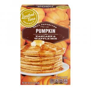 Limited Time Originals Pumpkin Spice Pancake Waffle Mix