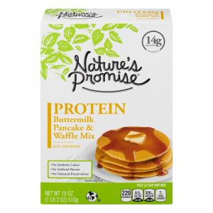 Nature's Promise Protein Buttermilk Pancake & Waffle Mix