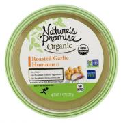Nature's Promise Organic Roasted Garlic Hummus