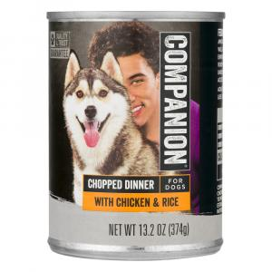 Companion Chicken & Rice Dog Food