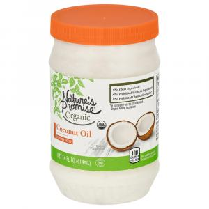 Nature's Promise Organic Unrefined Coconut Oil