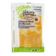 Nature's Promise Organic Natural Sliced Colby Jack Cheese