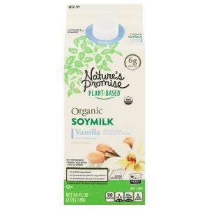 Nature's Promise Organic Vanilla Soy Milk