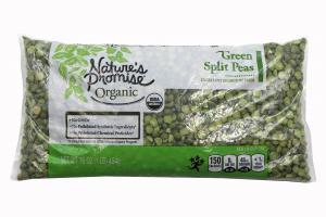 Nature's Promise Organic Split Green Peas Dried
