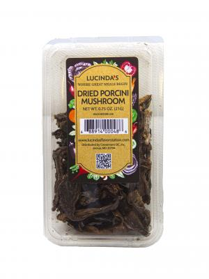 Lucinda's Dried Porcini Mushrooms
