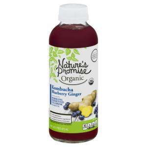 Nature's Promise Organic Blueberry Ginger Kombucha