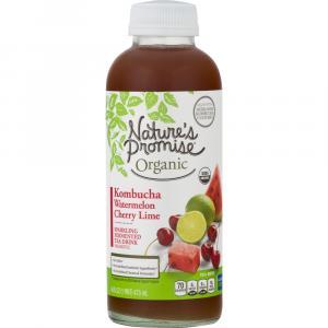 Nature's Promise Organic Watermelon Cherry Lime Kombucha