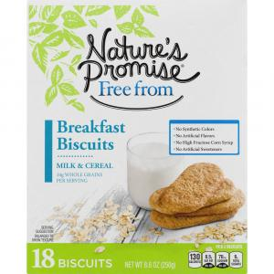 Nature's Promise Milk & Cereal Breakfast Biscuits