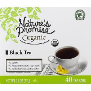 Nature's Promise Organic Black Tea Bags