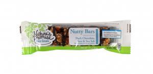 Nature's Promise Nutty Bar Dark Chocolate, Nuts & Sea Salt