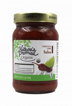 Nature's Promise Organic Chipotle Lime Salsa