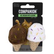 Companion Ice Cream Cones with Catnip Toy for Cats
