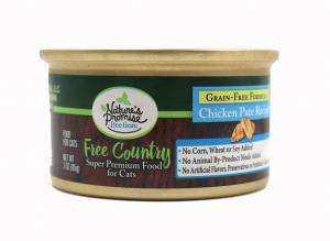 Nature's Promise Free Country Chicken Pate Recipe Cat Food