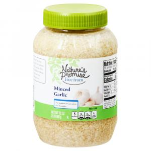 Nature's Promise Minced Garlic
