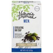 Nature's Promise Men Exfoliating Bar Soap Beer Scent
