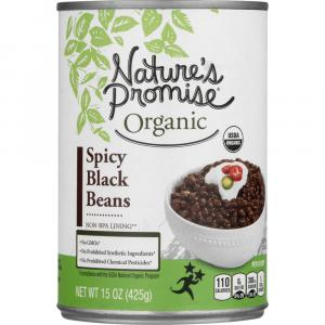 Nature's Promise Organic Spicy Black Beans