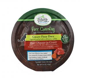 Nature's Promise Free Country Beef Dinner in Gravy Dog Food