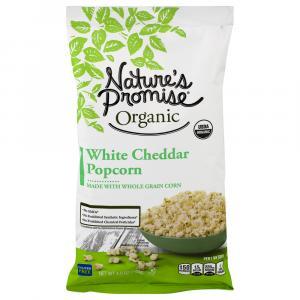 Nature's Promise Organic White Cheddar Popcorn