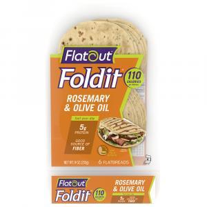Flatout Rosemary Olive Oil Fold It Flatbread