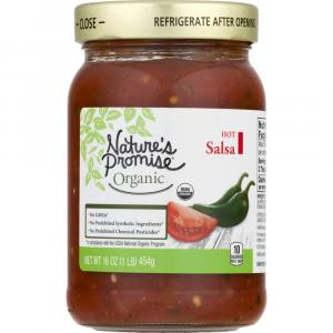 Nature's Promise Organic Hot Salsa