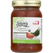 Nature's Promise Organic Hot Salsa