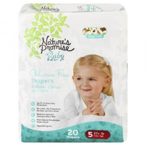 Nature's Promise Baby Size 5 Diapers