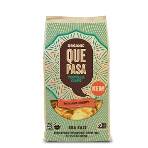 Que Pasa Sea Salt Tortilla Chips