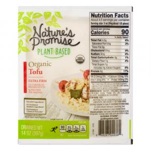 Nature's Promise Organic Extra Firm Tofu