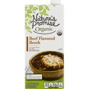 Nature's Promise Organic Beef Flavored Broth