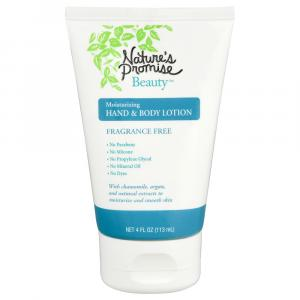 Nature's Promise Beauty Hand & Body Lotion Unscented