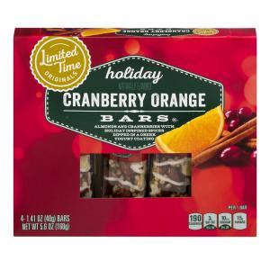 Limited Time Originals Cranberry Orange Bars