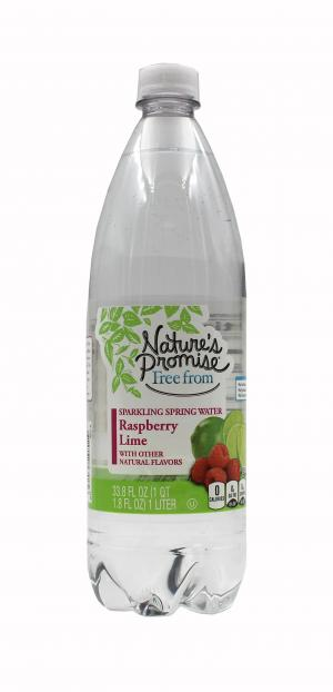 Nature's Promise Sparkling Spring Raspberry Lime