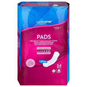 CareOne Moderate Long Bladder Control Pads