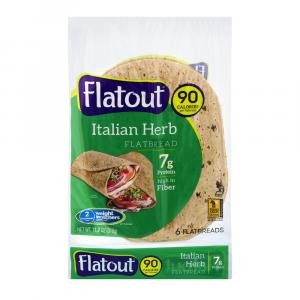 Flatout Italian Herb Light Wraps