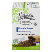 Nature's Promise Organic French Roast Single Serve Coffee
