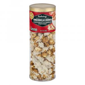 Limited Time Originals Holiday Gingerbread Crunch Popcorn