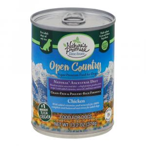 Nature's Promise Open Country Chicken Dog Food