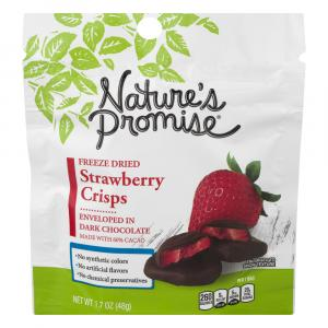 Nature's Promise Freeze Dried Strawberry Crisps