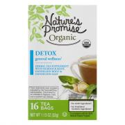 Nature's Promise Organic General Wellness Detox Tea Bags