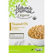 Nature's Promise Organic Toasted O's Cereal