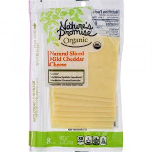 Nature's Promise Organic Natural Sliced Mild Cheddar Cheese
