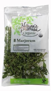 Nature's Promise Organic Marjoram