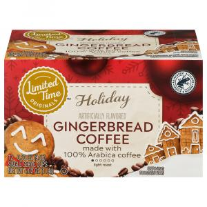 Limited Time Originals Gingerbread 100% Arabica Coffee
