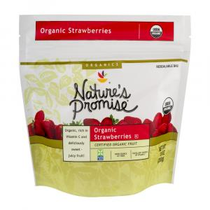 Nature's Promise Organic Frozen Strawberries