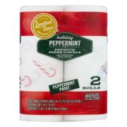 Limited Time Originals Holiday Peppermint Paper Towels